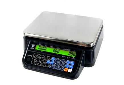 DS-782BR RS BK- waga kalkulacyjna bez wysięgnika w czarnej obudowie