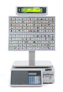 SM-500M BS- samoobsługowa waga etykietująca z klawiaturą obrazkową