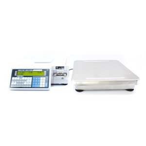 SM-500M EB z zewnętrzną platformą- waga etykietująca bez wysięgnika z zewnętrzną platformą