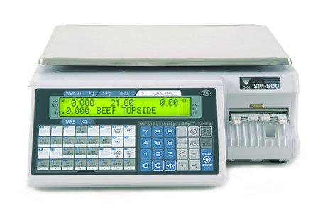 SM-500M EB- waga etykietująca bez wysięgnika