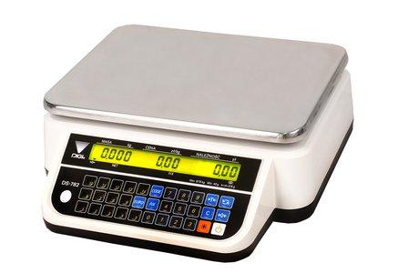 DS-782BR RS- waga kalkulacyjna bez wysięgnika w białej obudowie