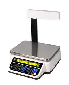 DS-782PR RS- waga kalkulacyjna z wysięgnikiem w białej obudowie