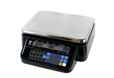 DS-781BR RS BK- waga kalkulacyjna bez wysięgnika