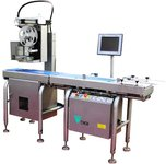 Dynamic weighing and labeling machines